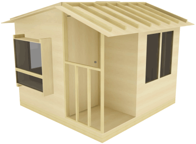 San Pedro one tree tree house plan